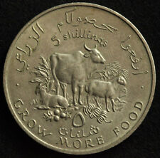 Coins & Paper Money 1970 Somalia 5 Shillings Km# 15 Proof Coin 2nd F.a.o Conference Only 1000 Mintd