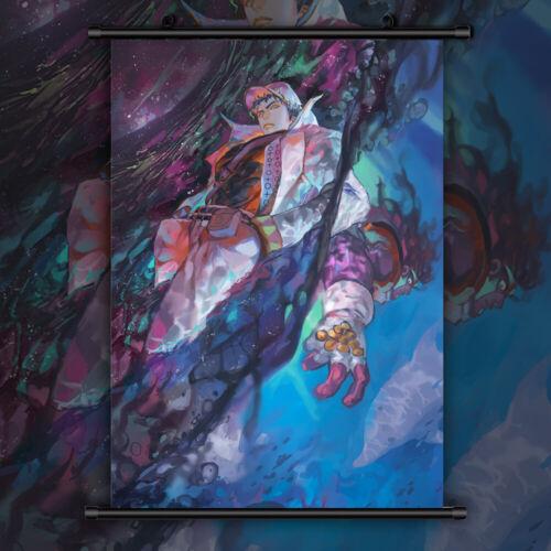 Jojo JoJo/'s Bizarre Adventure Jotaro Wallscroll Poster Kunstdrucke Bider Drucke