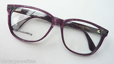 Grande Vintagebrille Di Leon/italy Montatura Occhiali Donna Fuori Uso Misura L-mostra Il Titolo Originale Originale Al 100%