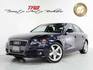 2012 Audi A4 2.0T PREMIUM I SUNROOF I 1-OWNER