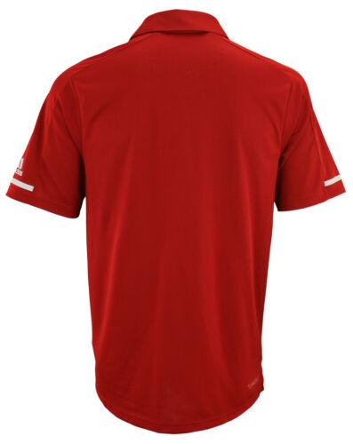 adidas NCAA Men/'s Climachill Team Logo Performance Polo Nebraska Cornhuskers