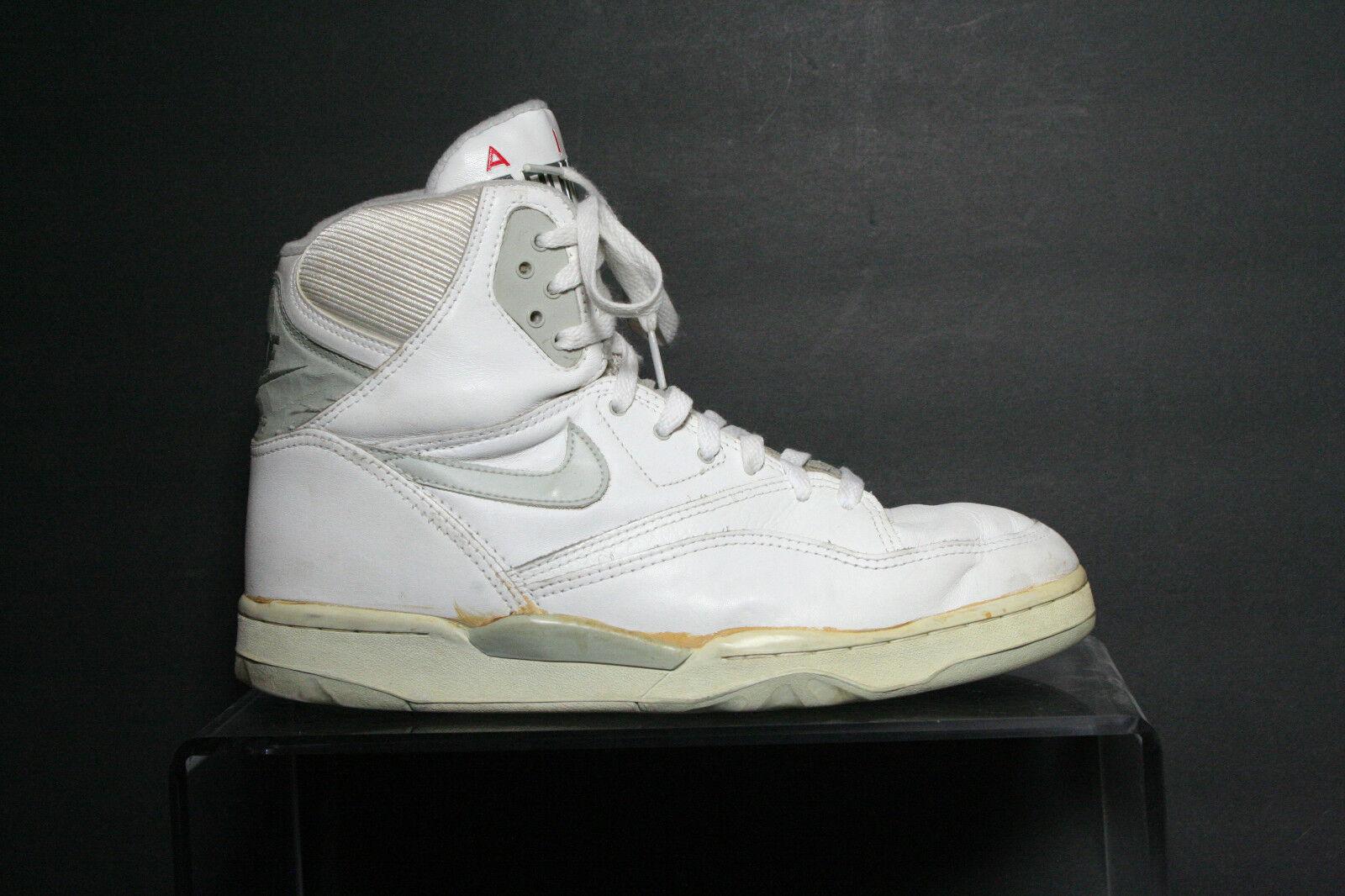 Nike VTG OG Air Transition 1989 Multi White Grey Athletic Women 10.5 Basketball