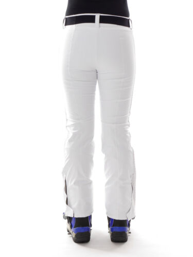 CMP Skihose Snowboardhose Schneehose weiß Gürtel Stretch ClimaProtect®