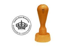 Stempel « keep calm KRONE » Adressenstempel Motivstempel England König Königin