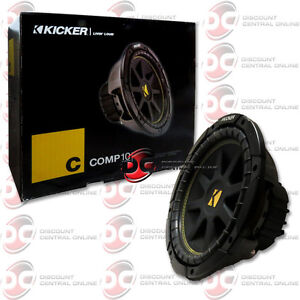 Kicker audio 10 inch woofer