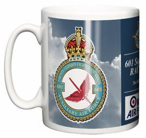 RAF 601 Squadron RAUXAF Ceramic Mug, Northolt Base Station