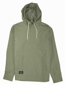 Fourstar KOSTON PONCHO Mens Henley Pullover Hoodie Shirt Large ...