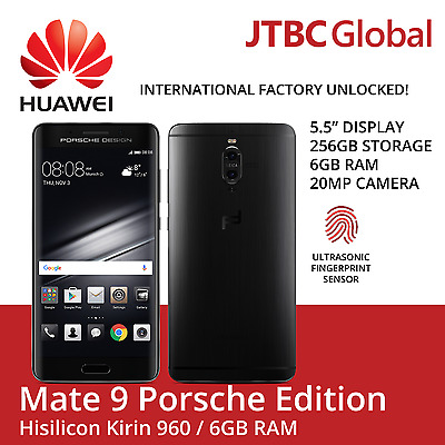 New Huawei Mate 9 Porsche Design LON-L29 Factory Unlocked 5.5 inch 6GB 256GB