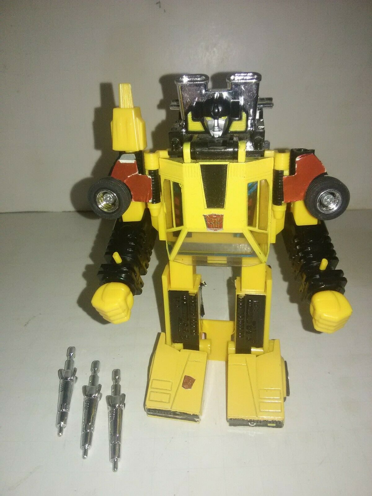 1984 Hasbro Takara Transformers G1 Sunstreaker Robot Car Japan with Parts