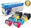 miniature 1 - 8-PK-Black-amp-Color-Toner-for-Samsung-CLP-300N-Printer-CLX-2160N-CLX-3160FN-BCMY