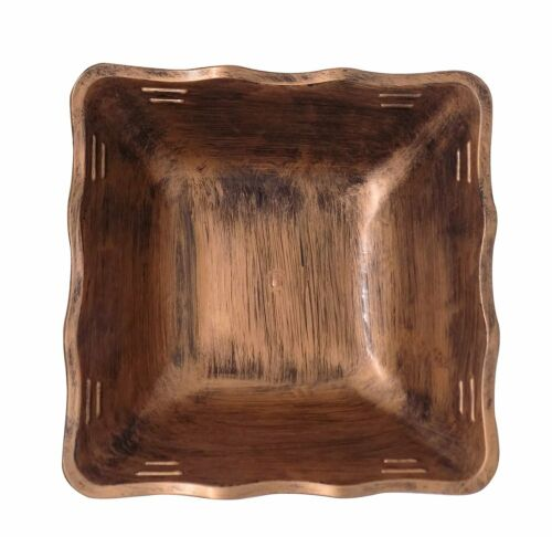 Copper Fruit Bowl for Dining Table Bowls for Serving Kitchen Accessories
