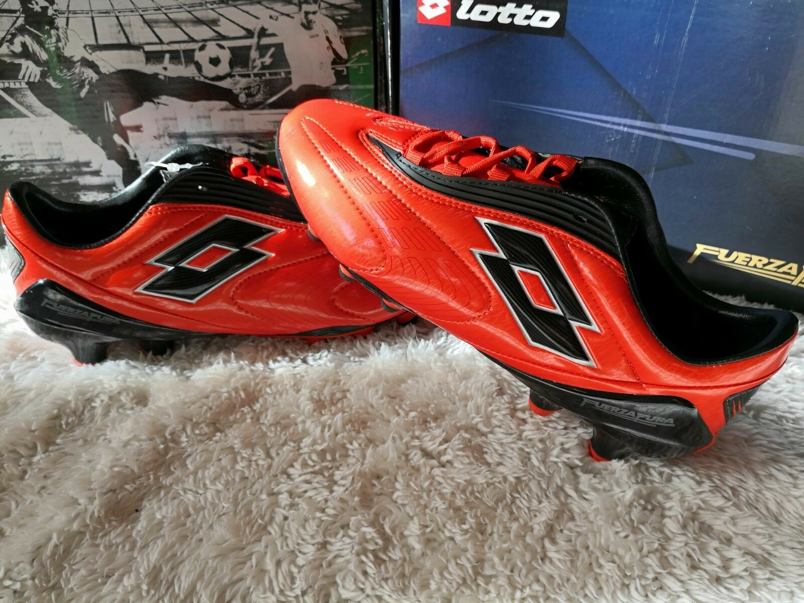 Lotto Fuerzapura L100 FG Footwear Size US 7.5-8.0-8.5 New Original