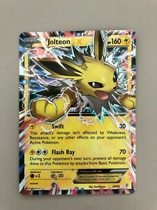 Jolteon EX 28/83 -Ultra Rare Pokemon Card- GREAT CONDITION ...