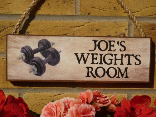 Personalizado Home Gym signos arrojar signos Garage signos Funny signos Gimnasio