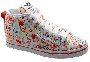 Adidas Originals Honey UP W Graffiti Womens Wedge Trainers Shoes ... b91e6414a