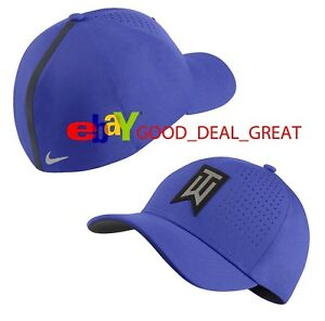 2018 Nike Tiger Woods TW Striped Golf Hat Cap 845579-452   Pick Size ... b4d9c824156
