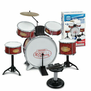 Battery-BONTEMPI-Genius-6-Pieces-With-Stool-Rock-Drummer-5