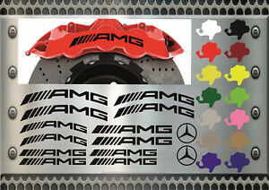 14-St-AMG-Bremssattel-Aufkleber-Sticker-Hitzebestaendige-12-Farben-Bg-Mercedes