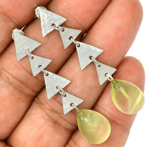 Prehnite-925-Sterling-Silver-Earrings-Jewelry-AE101744-153R
