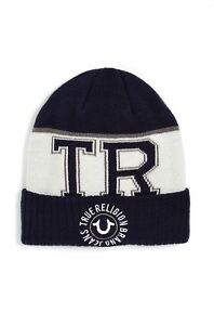 True-Religion-Men-039-s-Classic-Pull-on-Watchcap-Beanie-Hat-TR2405