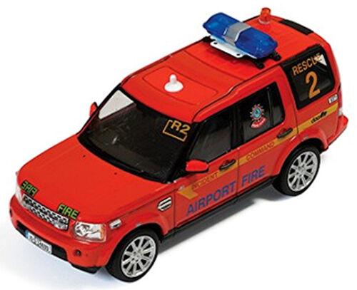 Land Rover Discovery 4 Dublin Airport Fire Service Rescue 2010-1:43 Ixo