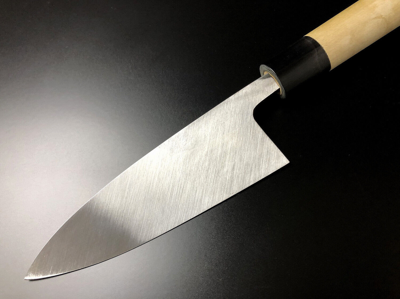 Japanese Chef's Knife ARITSUGU Weiß Steel Deba Fish Fish Fish Knife 135mm 5.31  AT019a 36f8fc