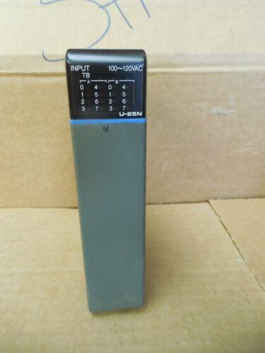 Texas Instruments Input Module U-25N U25N 100-120 V Volt VAC Used