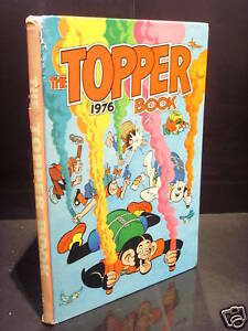 DC THOMSON THE TOPPER BOOK 1976 GC