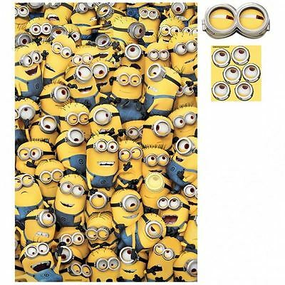 same as pin tail to the donkey Despicable Me Minions party game