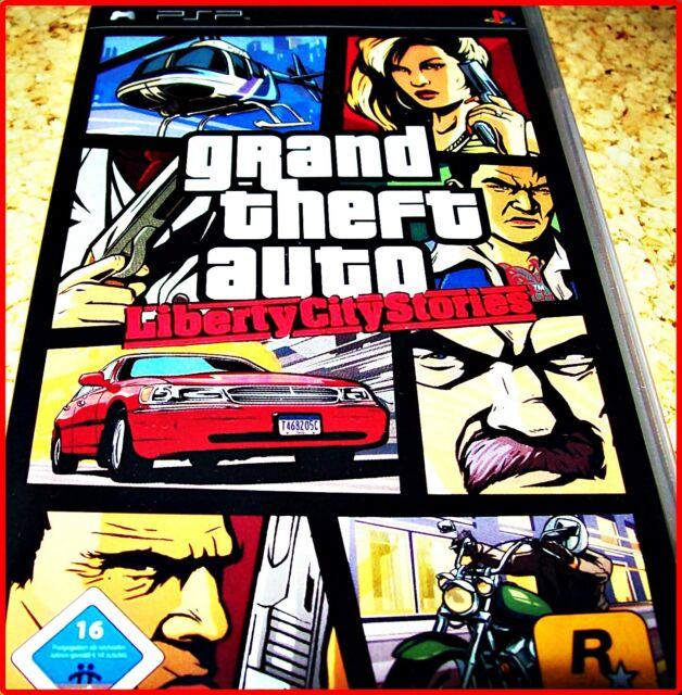 SONY PSP GTA- GRAND THEFT AUTO - LIBERTY CITY STORIES + KARTE*