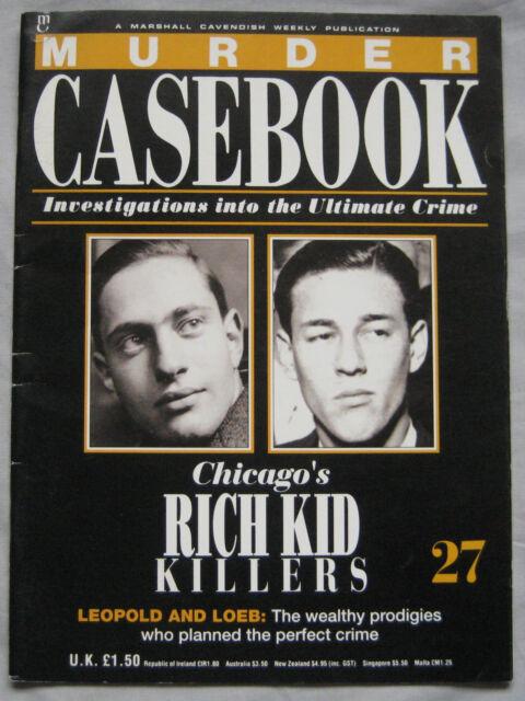 Murder Casebook Issue 27 - Rich Kid Killers Leopold & Loeb