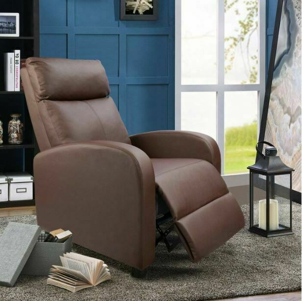 Reclining Swivel Accent Chair For