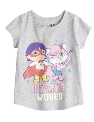 RYANS WORLD GIRLS SHIRT SIZE 2T 3T 4T 5T NEW!