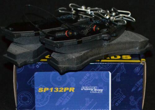 SCT Bremsbeläge SP132PR Bremsklötze Bremsbelagsatz vorne Mercedes Sprinter VW LT
