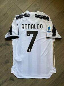 Cristiano Ronaldo Jersey Juventus Hogar 2020 2021 Tamano Grande Ebay