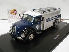 """Schuco 03039 # Magirus S6500 Baujahr 1954 """" BV-ARAL """" in dunkelblau-silber 1:43"""