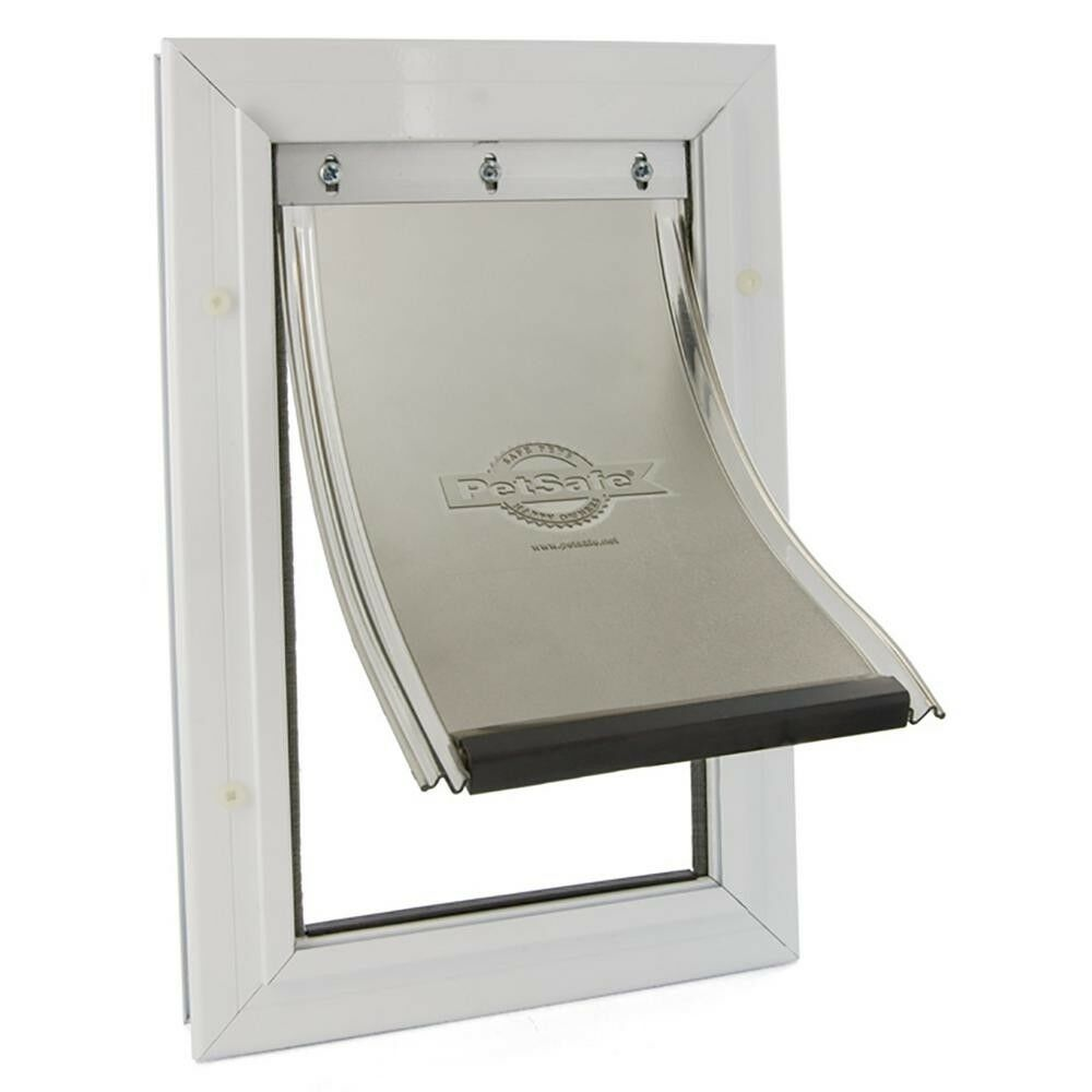 X-Large Freedom Aluminum Pet Pet Pet Door Dog Frame 13-3 4 x 23-3 4 in. Easy Install New f33475