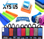 XYSTUS-MICROFIBRE-TOWEL-GYM-TOWEL-PATTERN-TOWEL-CLEANING-CLOTH-ZIP-BAG thumbnail 1