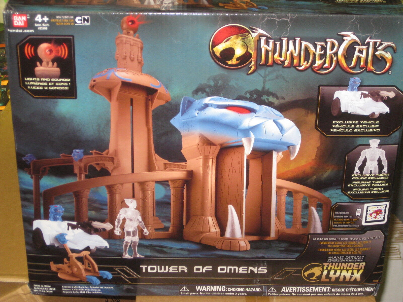 Thundercats Tower Of Omens Actionfigur Spielset Neu
