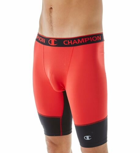 NWT Champion  PowerFlex Performance 9 Inch Compression Short Size Medium RED