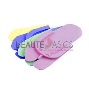 dff12b789 Image is loading 48-Pairs-Disposable-Pedicure-Slippers-Flip-Flop-DS03M-