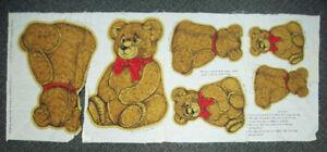4 Strips Grossman/'s Stickers Mrs Sock Monkey Old Fashioned Stuffed Toy