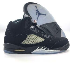 Nike-Air-Jordan-5-V-Retro-OG-Metallic-Black-Fire-Red-845035-003-Men-039-s-17