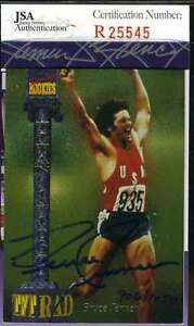 BRUCE-JENNER-JSA-COA-Autographed-1994-SIGNATURE-ROOKIE-Authentic-Hand-Signed