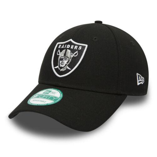 NEW Era 9 Forty NFL Oakland Raiders la NFL NERA CURVA Picco Strapback Cap
