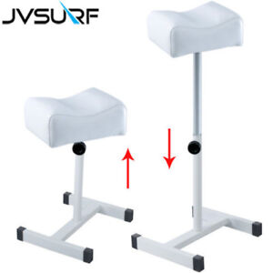 Groovy Details About Tattoo Leg Rest Adjustable Pedicure Foot Stool Station White Pu Leather Salon Uk Unemploymentrelief Wooden Chair Designs For Living Room Unemploymentrelieforg