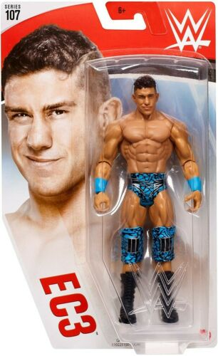 Mattel WWE Wrestling 107 Action Figure Nuovo in Scatola