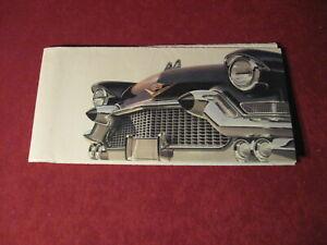 1957-Cadillac-Sales-Brochure-Old-Original-Booklet-Book-Catalog