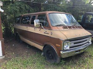 1970 Dodge Van Project