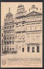 Belgium Postcard - Brussels - The Grand Place, North-West Side   V2165